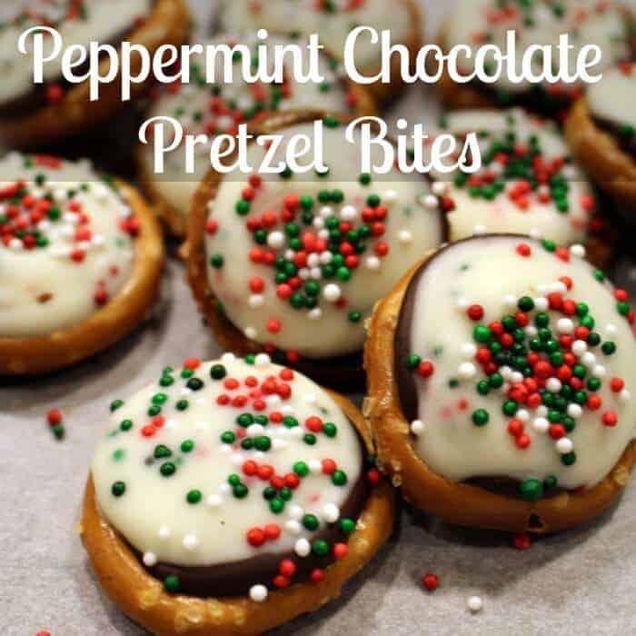 Christmas Pretzel Bites square