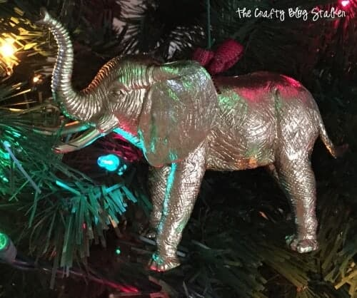 Gold Animal Ornaments by The Crafty Blog Stalker
