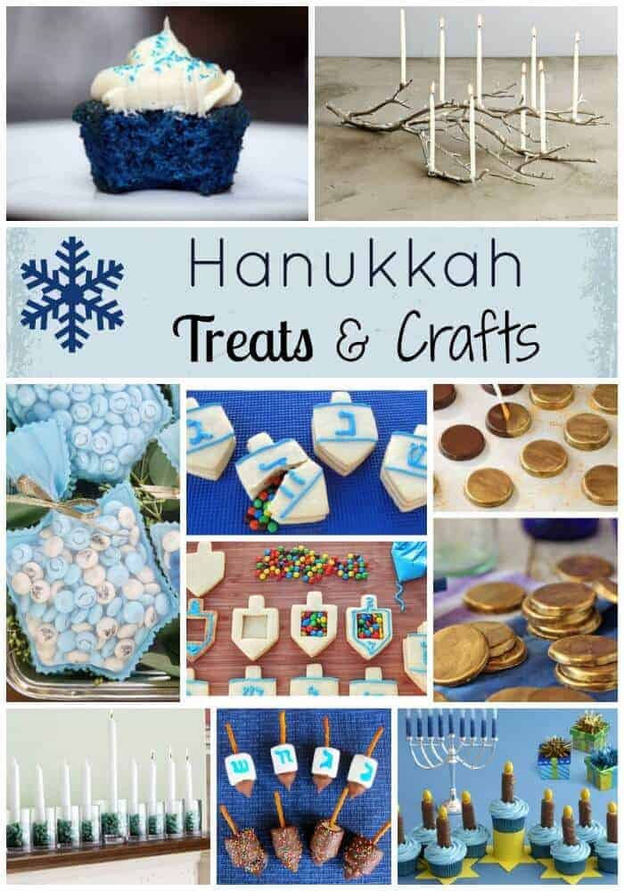 Hanukkah crafts and treats