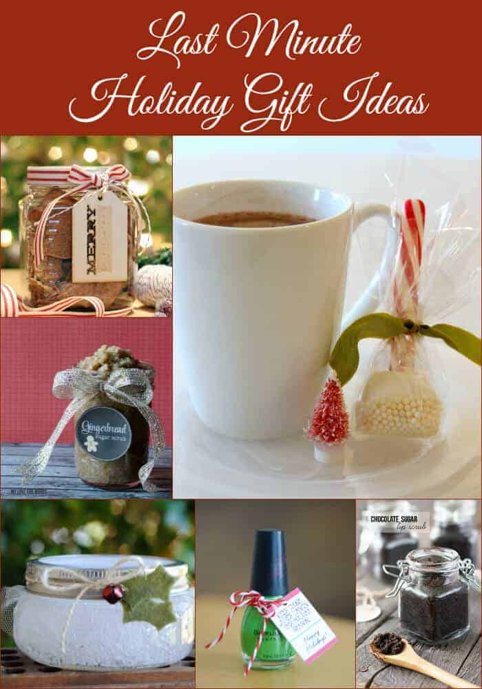Last Minute Holiday Gift Ideas