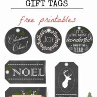Rustic Christmas GIft Tags TItle
