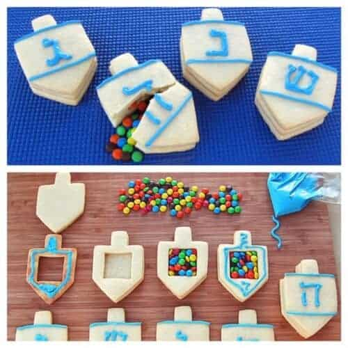 dreidel_cookies