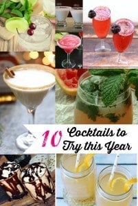 10 Cocktails to Try this Year