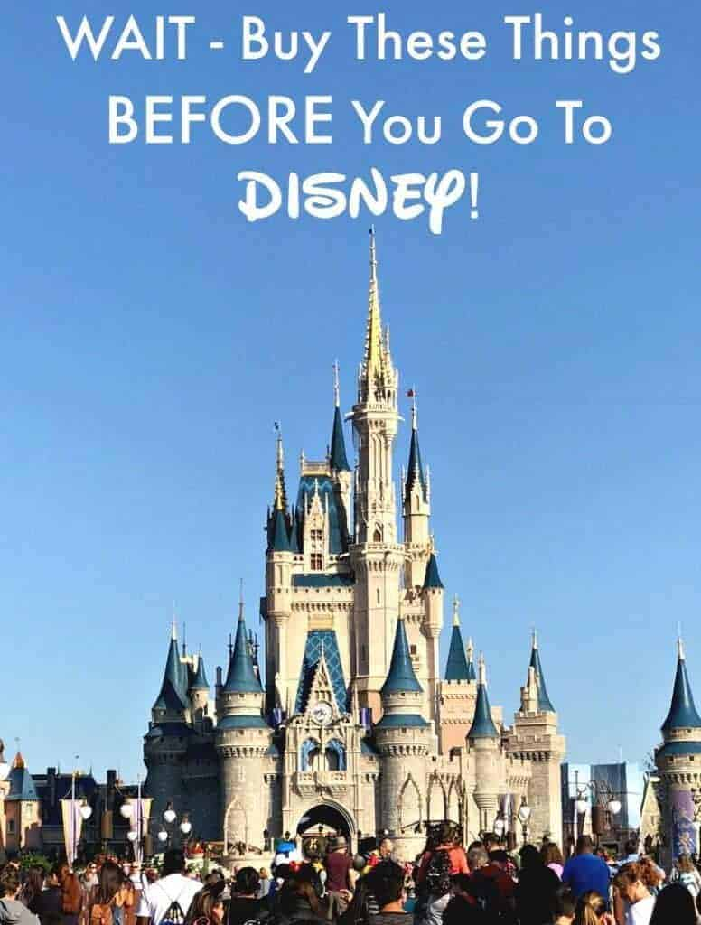 Going to Disney? Wondering what to pack for your Disney vacation? Before you go to Disney let me save you some money! See these Disney tips, packing ideas and items to sure to buy BEFORE you leave!