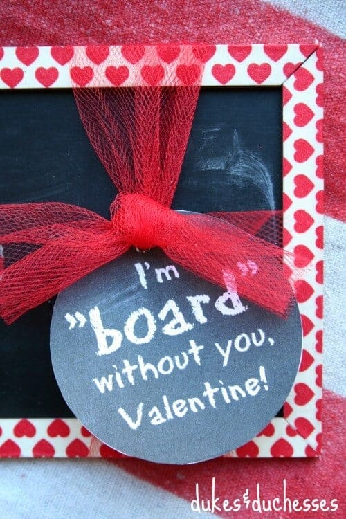 Chalkboard Valentine by Dukes and Duchesses