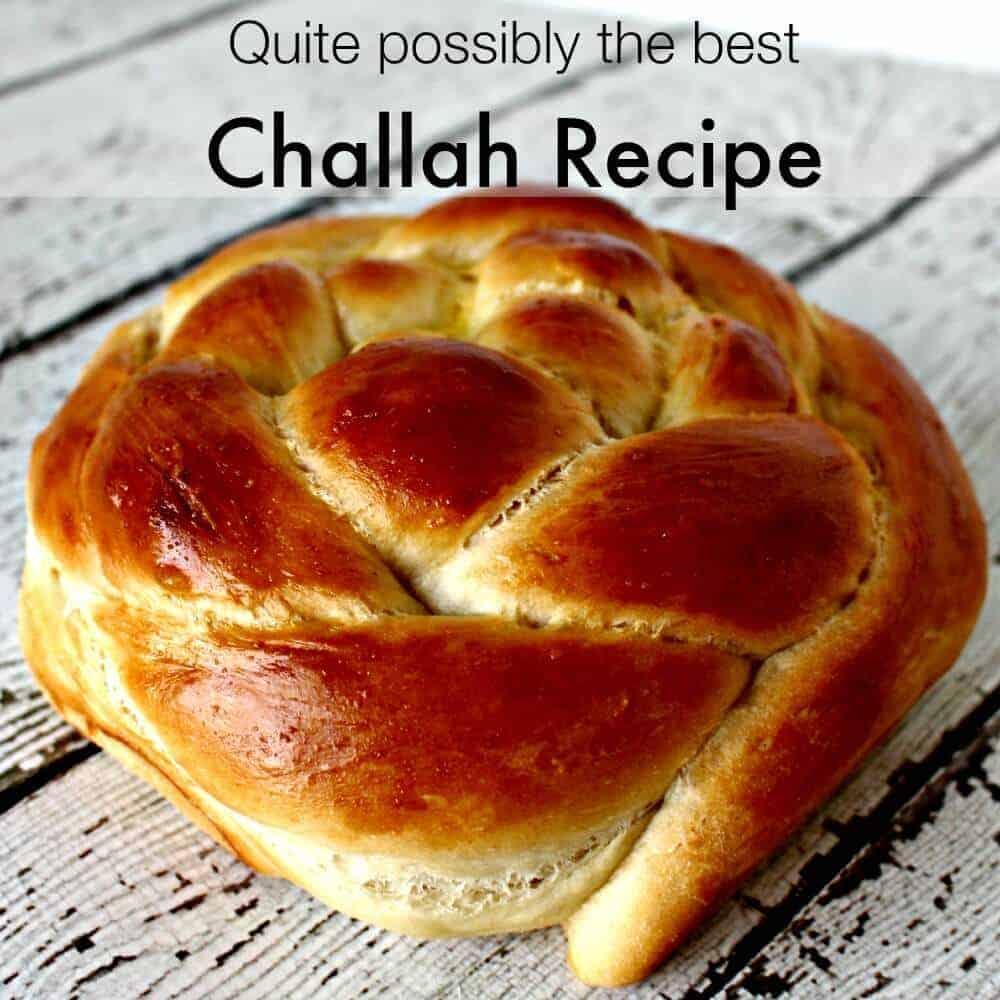 Challah recipe square