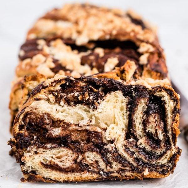 Chocolate Babka Square