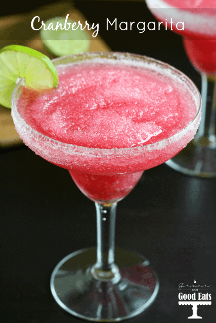 Cranberry Margarita by Grace and Good Eats