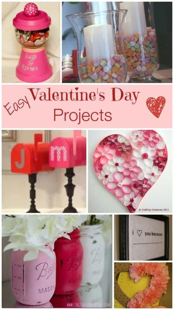 Easy Valentines Day Crafts and Projects