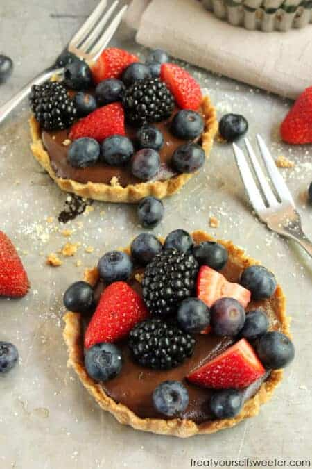 Healthified Chocolate Tart by Treat Yourself Sweeter