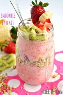 Smoothie Parfait by House of Yumm