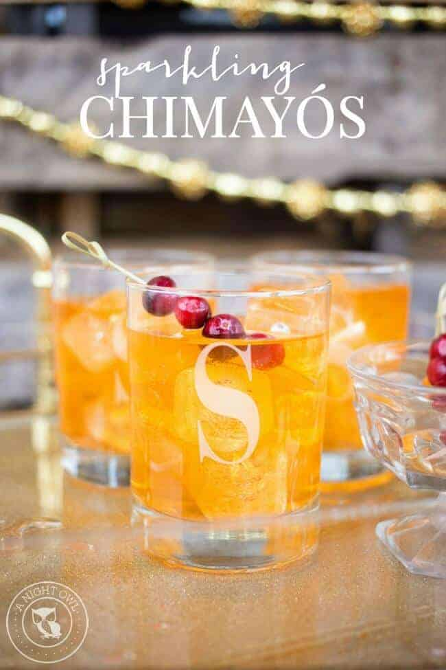 Sparkling Chimayo Cocktail by A Night Owl Blog