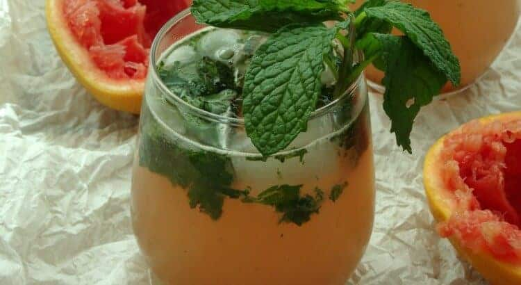 Sweet Grapefruit Mojito by Pink Recipe Box