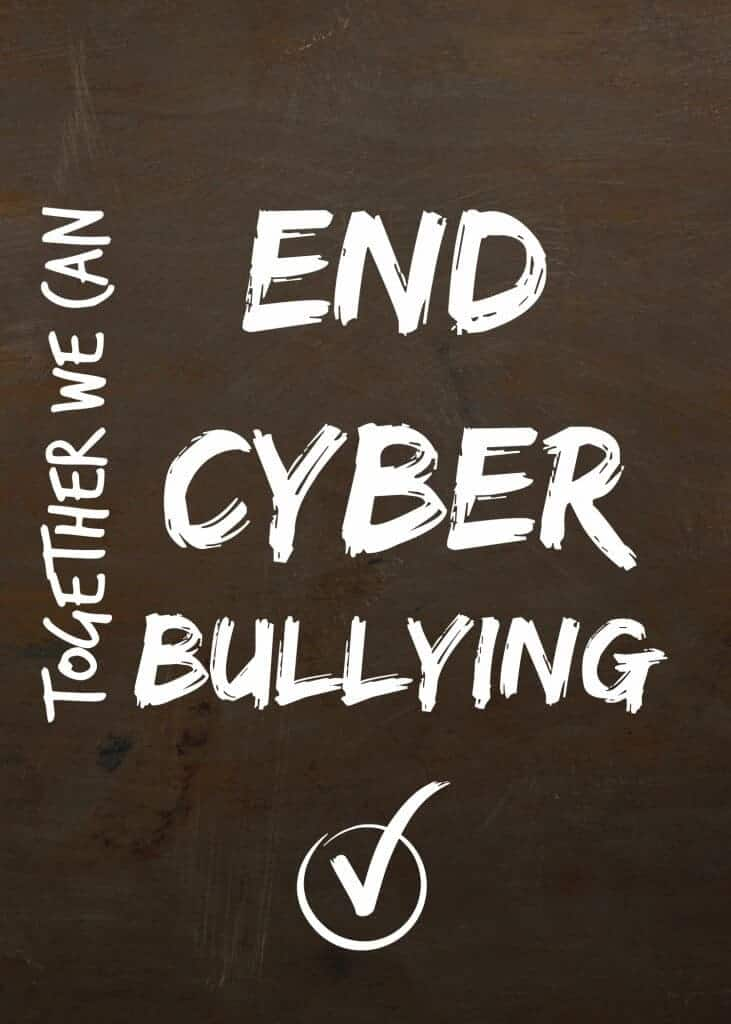Together we can end cyber bullying