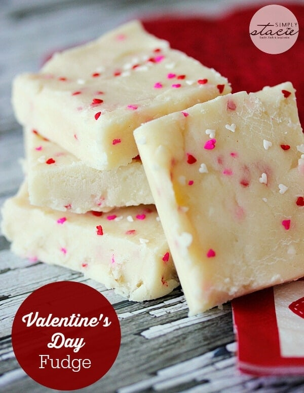 Valentines Day Fudge by Simply Stacie