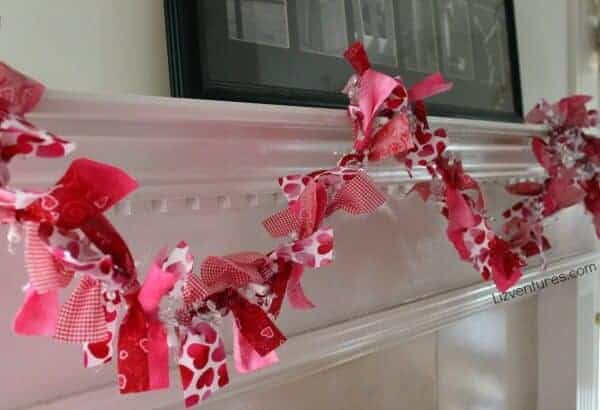 Valentines Day Garland by Liz Ventures