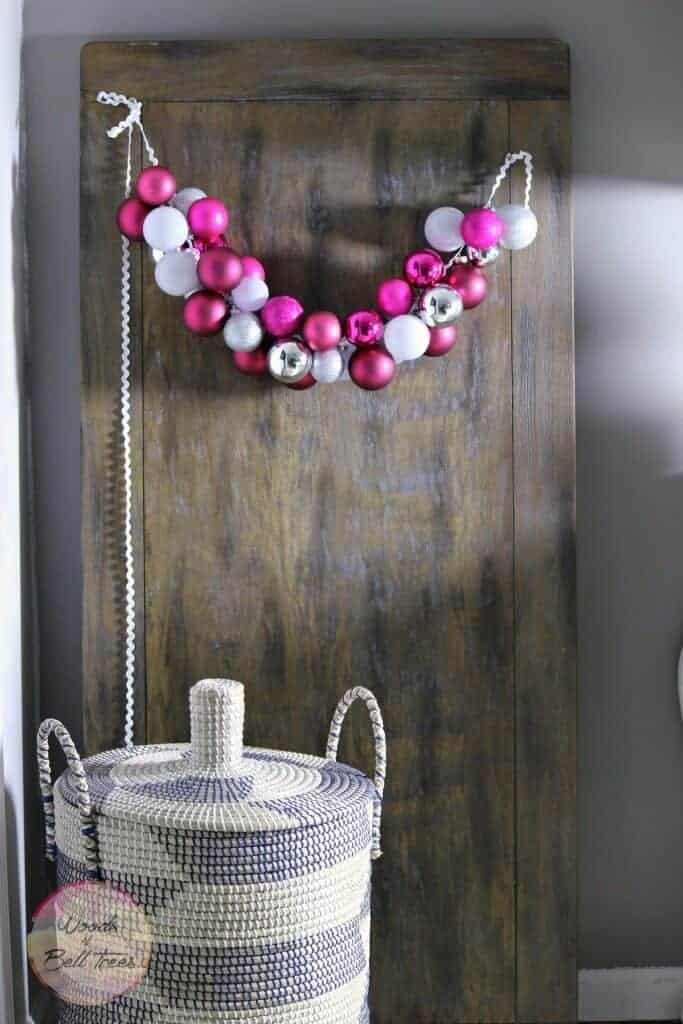 Valentines Ornament Garland by Woods of BellTrees