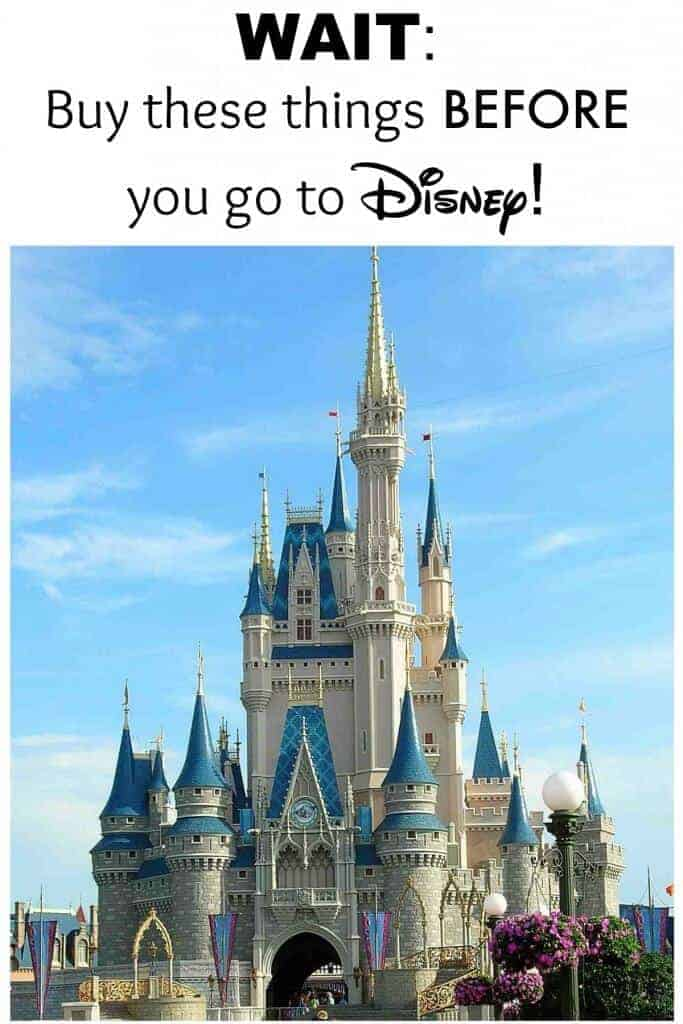 Before you go to Disney let me save you some money! Be sure to buy these thing before you go to Disney!