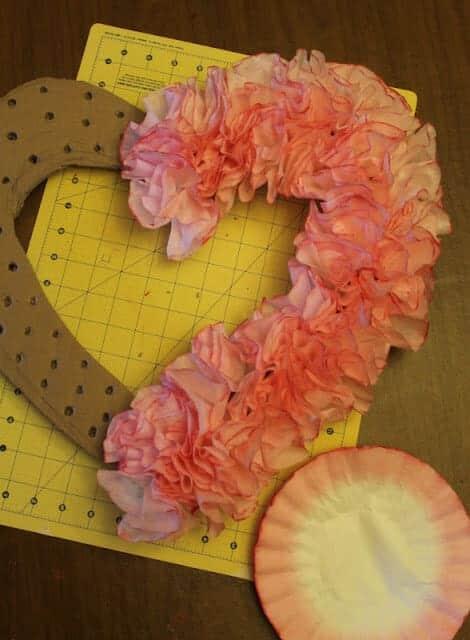 coffee_filter_valentines_wreath