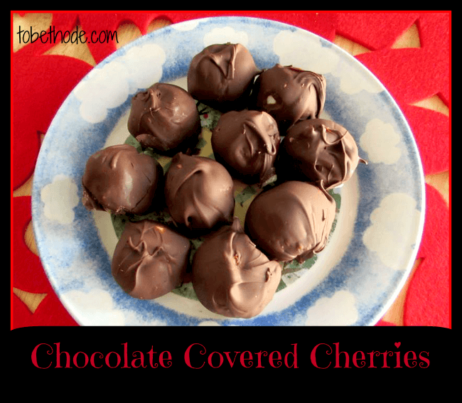 Chocolate Covered Cherries by To be Thode