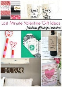 10 Super Easy Last Minute Valentine Gift Ideas