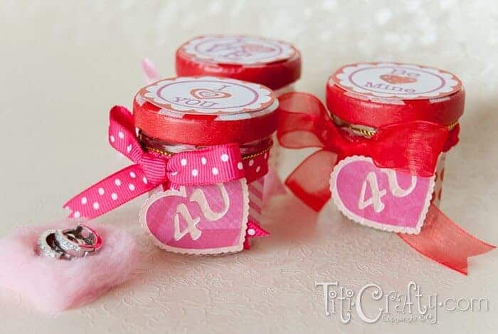 Mini Jam Jars by Titi Crafty