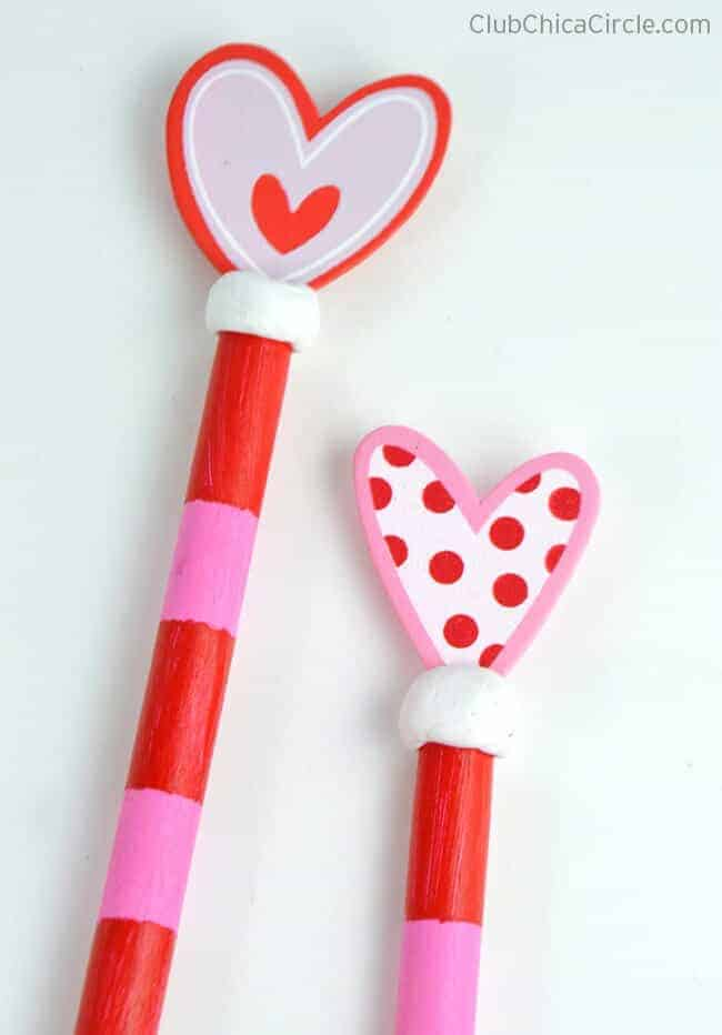 Painted Wooden Spoons from Club Chica Circle