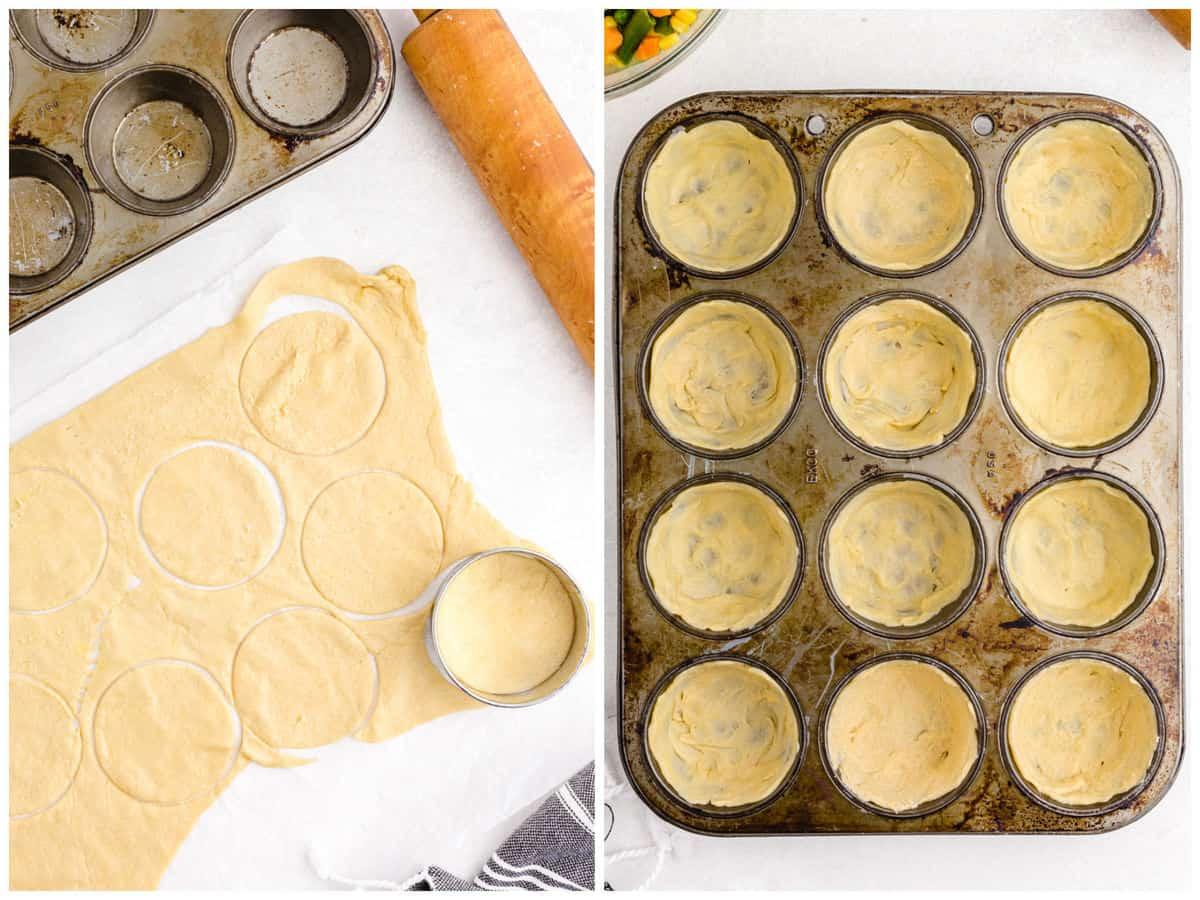 Chicken Pot Pie Step 1