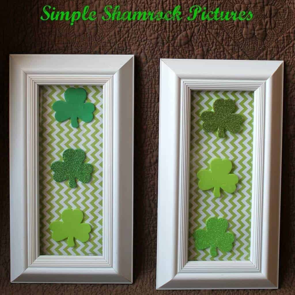 Shamrock pictures from SImply Soutehern Mom