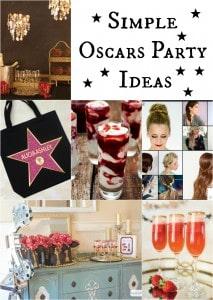 Simple Oscars Party Ideas