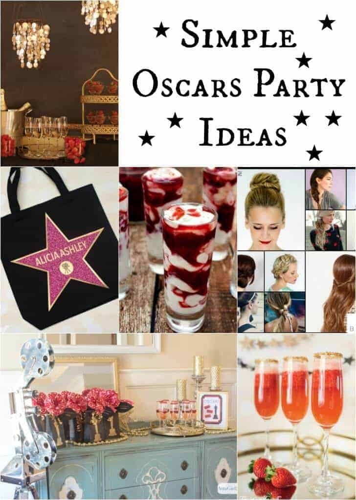 Simple Oscars Party Ideas by Princess Pinky Girl