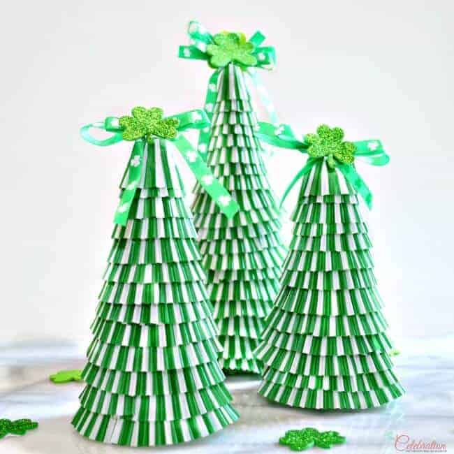 St. Patricks Day Trees from Little Miss Celebration