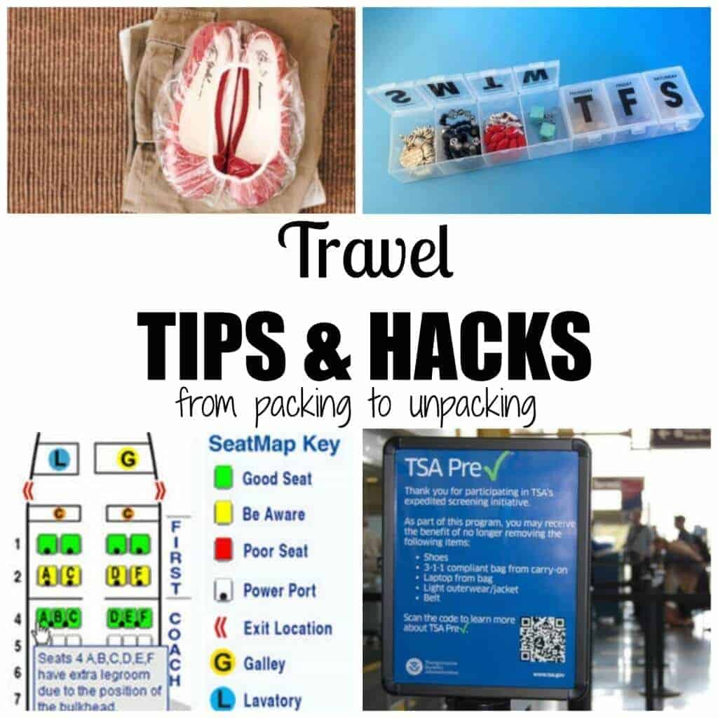 Travel tips and hacks