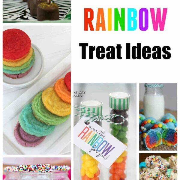 10 Rainbow Treat Ideas