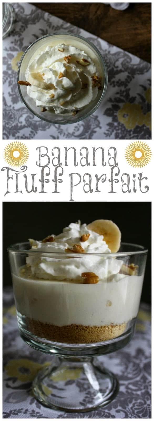 Banana Fluff Parfait