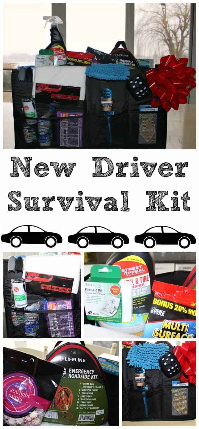 New Driver Survival Kit Princess Pinky Girl