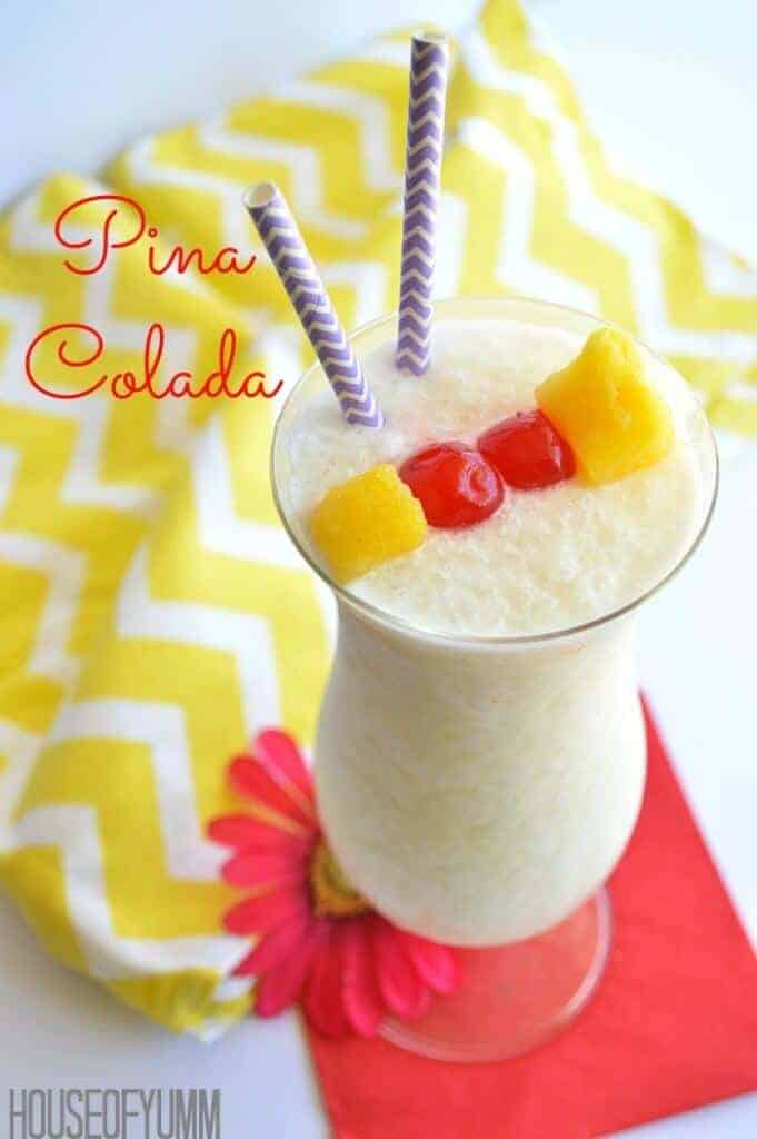 Pina-Colada - the perfect summer drink!