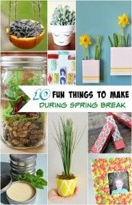 10 Fun Spring Break Activities and Crafts