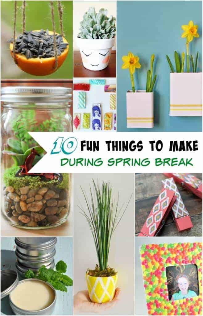 Spring Break Activities featured on Princess Pinky Girl
