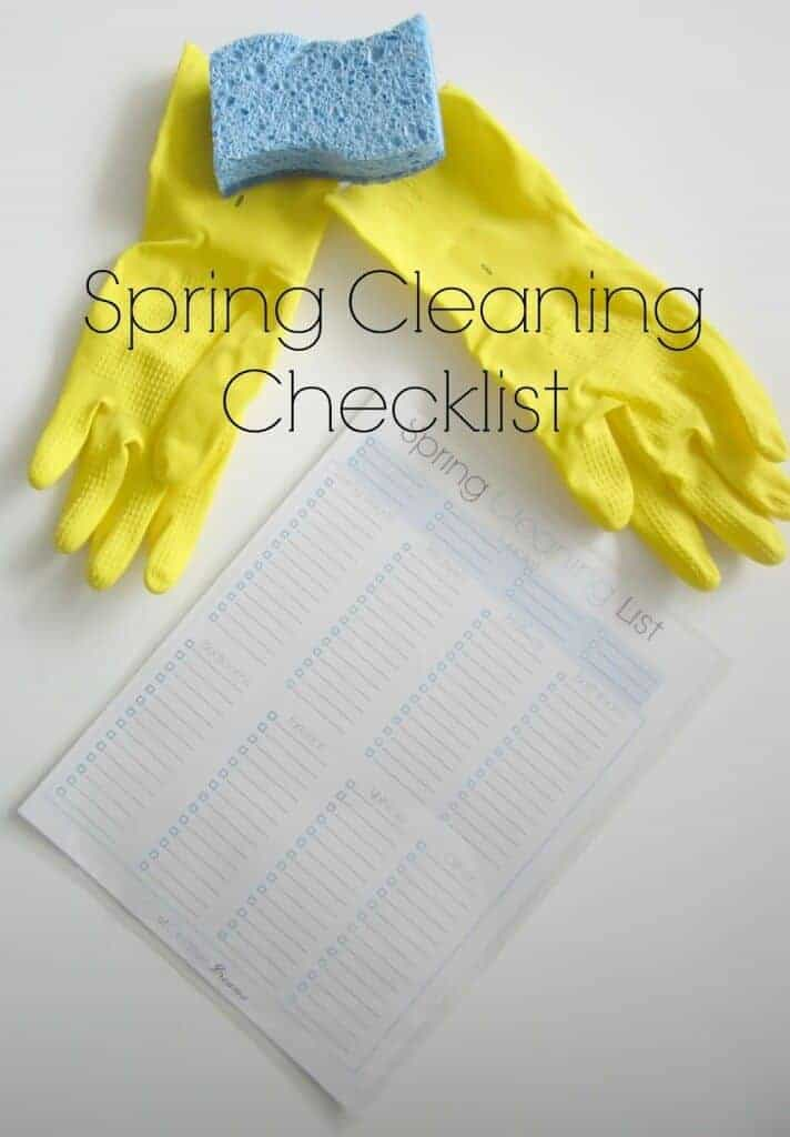 Spring Cleaning Checklist by City of Creative Dreams