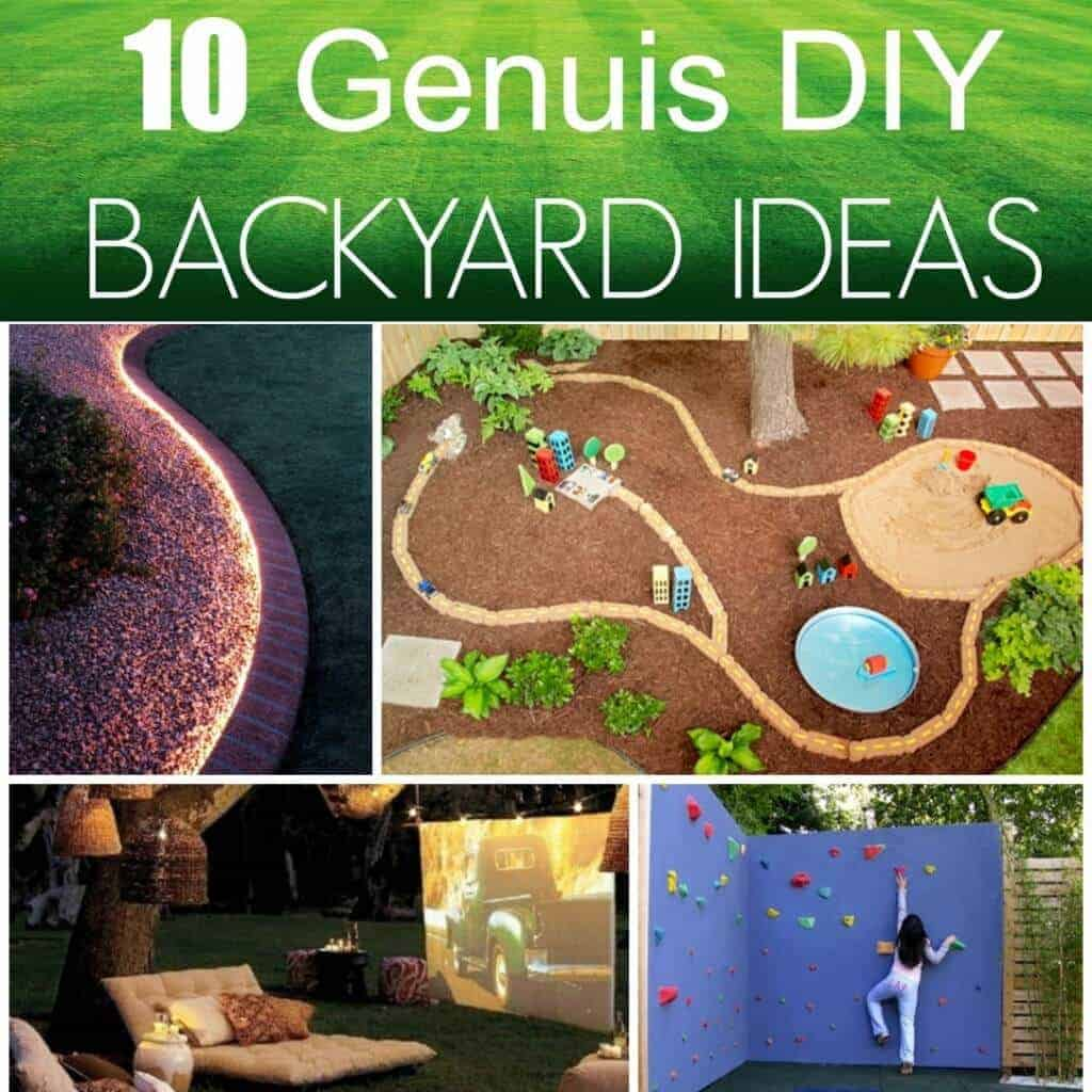 backyard ideas square