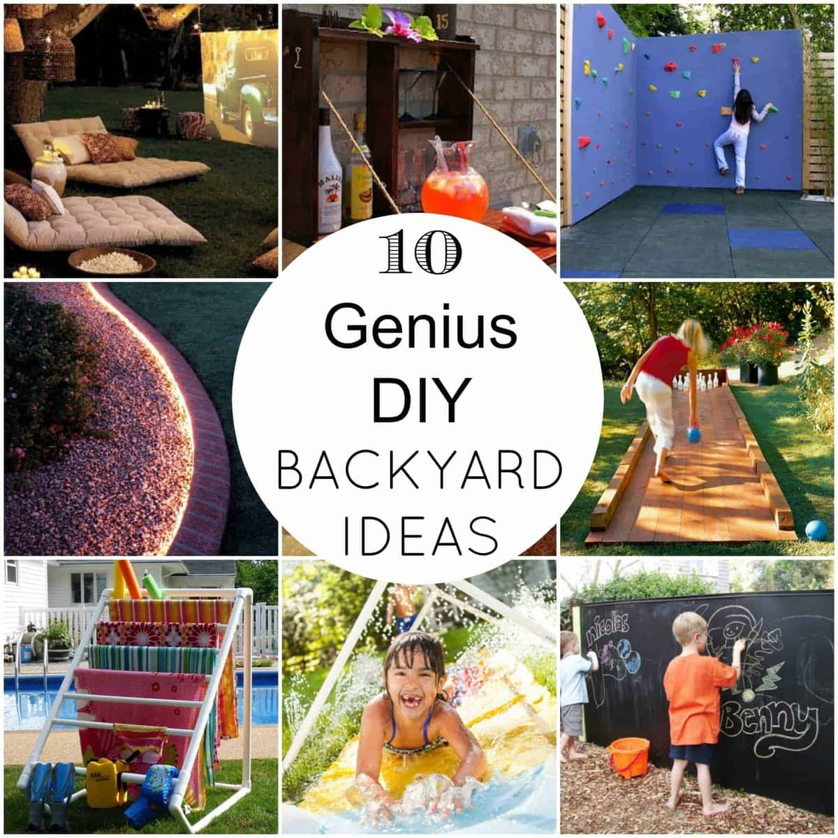 7 Diy Outdoor Lighting Ideas To Illuminate Your Summer: 10 Genius DIY Backyard Ideas