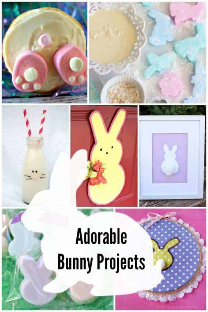 bunny projects for easter and spring