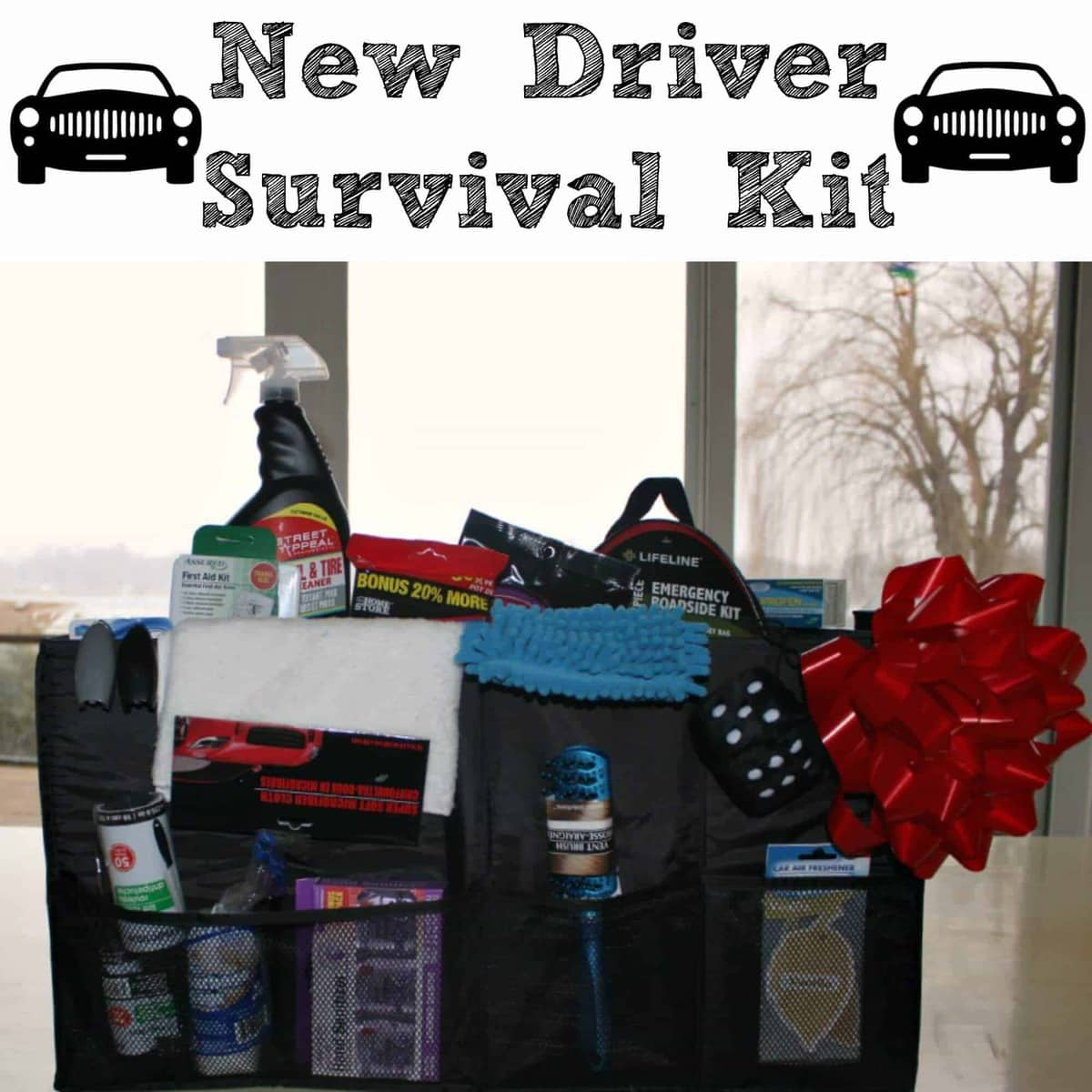 New Driver Survival Kit Princess Pinky Girl