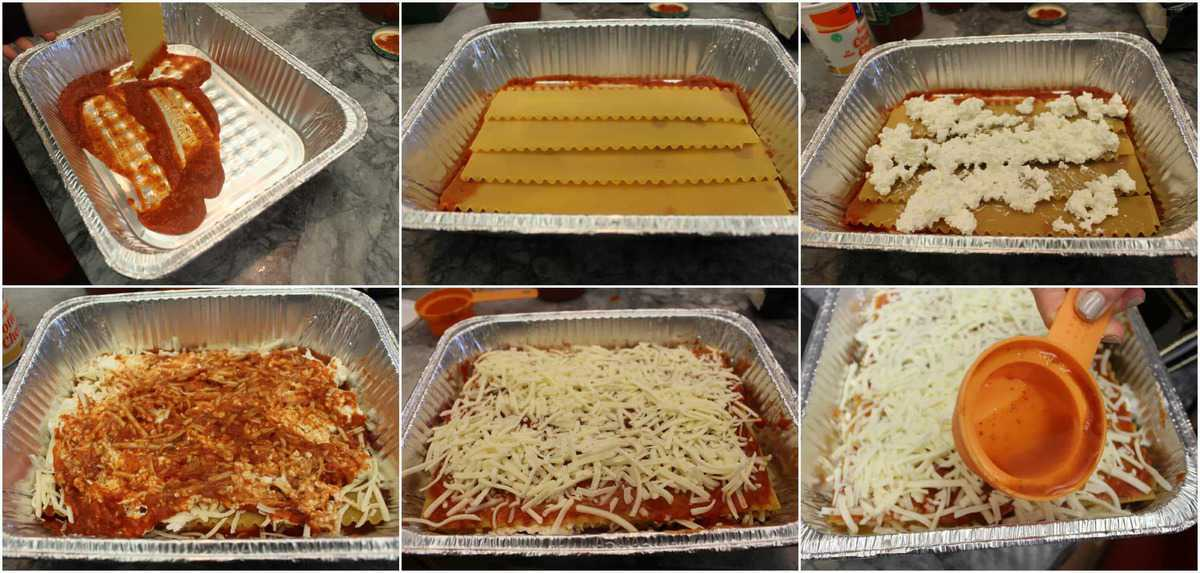 Lasagna Recipe Picture Step By Step