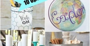 10 Upcycled Craft Ideas