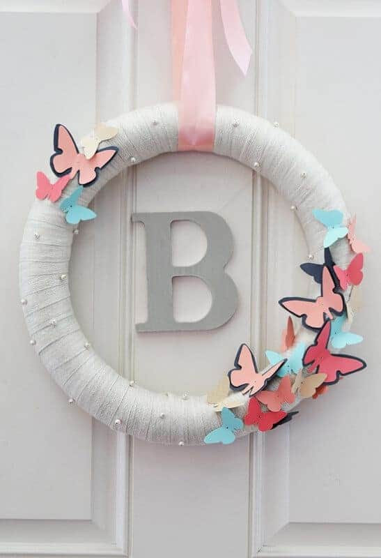 Butterfly Wreath by Craving Some Creativity