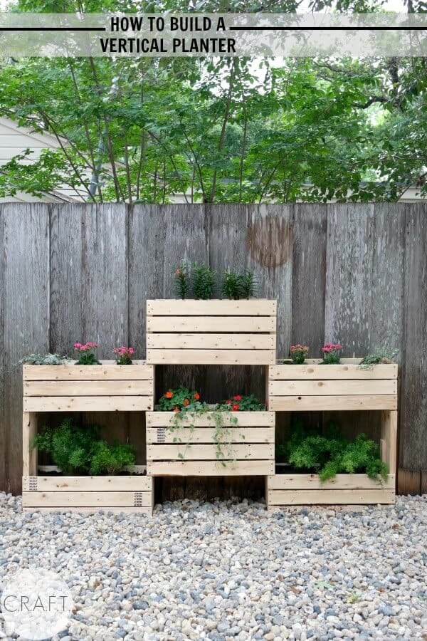 Vertical Planter from CRAFT