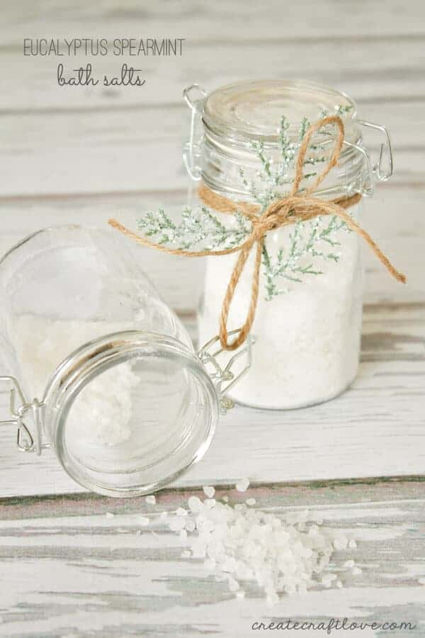 Eucalyptus Spearmint Bath Salts by Create Craft Love