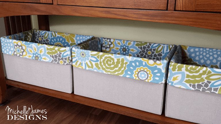 Organization Boxes by Michelle James Designs